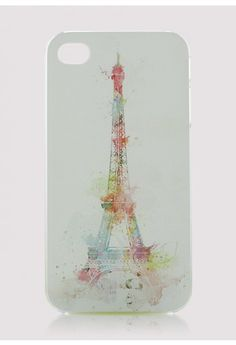 Eiffel Tower Cellphone Case, I would use it if I was a girl with iPhone...