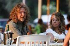 Robert Plant and granddaughter Sunny Jones