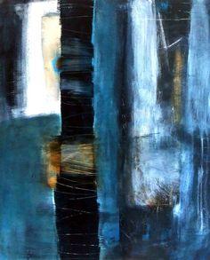 "Saatchi Online Artist: Patricia g McParlin; Mixed Media, 2010, Painting ""Resonate 2"""