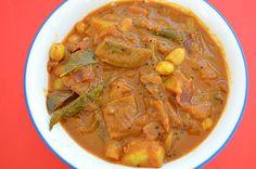 Vegetarian Recipes: Peanut Spicy Kuzhambu/Verkadalai Kara Kuzhambu