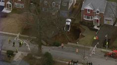 Massive sinkhole opens up Pennsylvania, two homes evacuated -- Earth Changes -- Sott.net