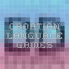 Croatian language games