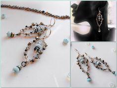 wire wrap earrings