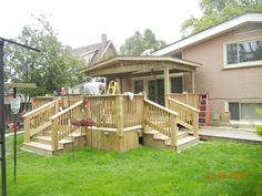 Deck and gazebo by Karls Woodworking