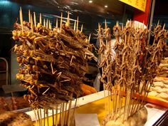 A Famous Edible Bug Market in China is Closing Due To Neighbor Complaints