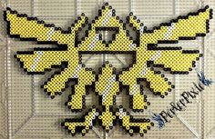 The Legend of Zelda Triforce by PerlerPixie.deviantart.com on @DeviantArt