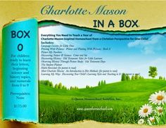 Charlotte+Mason+in+a+Box+-+Box+0+[CMBOX0]+-+$175.00+:+Queen+Homeschool+Supplies,+Publishers+of+Books+for+the+Charlotte+Mason+Style+Educator+