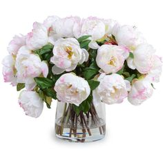 New Growth Designs Large Light Pink Peony Faux Flowers