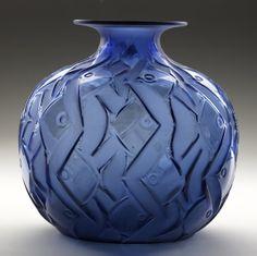 Lalique Penthievre Vase, 1926
