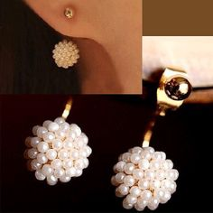 Pearl Ball Wrapping Ear Cuffs | LilyFair Jewelry, $10.99!