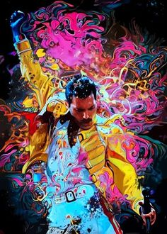 Pop Art Posters, Rock Posters, Band Posters, Poster Prints, Freddie Mercury Michael Jackson, 1440x2560 Wallpaper, Queen Poster, New Retro Wave, Movie Posters