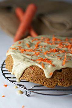 Orange Zest Carrot Cake With Cashew Cream Frosting Recipe on Yummly. @yummly #recipe