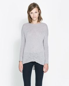Image 2 of BOAT NECK SWEATER from Zara