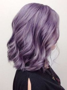 Short Lavender Hair, Pastel Lavender Hair, Silver Lavender Hair, Lilac Hair Dye, Dyed Hair Pastel, Short Purple Hair, Short Hair, Balayage Hair Purple, Lavender Hair Colors