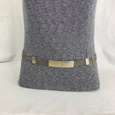 Lavender Crocodile with Nickel Plated Channel Buckle Leather Dress Belt