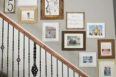 Staircase Gallery Wall Tutorial - Remington Avenue