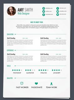 Free-Resume-PSD1.png (680×918)