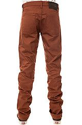Naked & Famous The Skinny Guy Jeans in Selvedge Chino Rust