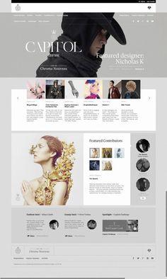 Design Americ Photo - Web UI Design / capitolcouture.pn... 518574595269815