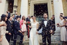 Charlie Brear Wedding Dress | Autumn Wedding | The Asylum London | East Dulwich Tavern | Blush Bridesmaid Separates | Hayward Jones Photography | http://www.rockmywedding.co.uk/cat-ali/
