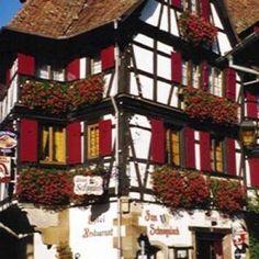 Hôtel Restaurant Zum Schnogaloch à Obernai #tourismeobernai www.tourisme-obernai.fr