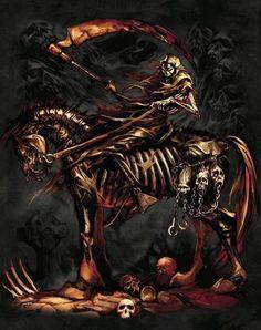 DEATH Rides--Grim Reaper