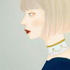 #illustration #illustrator #osmanthus #autumn #fall #girl #girlsart #portrait #art #drawing #drawer #bobcut #chorker #digtalart #イラスト #イラストレーション #アート #少女 #女性 #女の子 #ドローイング #絵 #チョーカー #ボブヘアー #金木犀 White Lilies, Chor, Bob Cut, Art Girl, Illustration, Artworks, Lily, French, Portrait