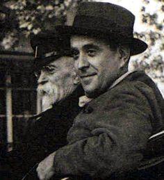 Tomáš G. Masaryk mit seinem Sohn Jan