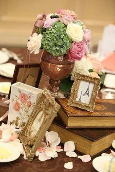 my wedding day♡会場装花 |いつも前向き!