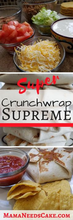 Not your ordinary Crunchwrap Supreme. This recipe has more fillings that make it even more delicious! Lo and behold this is the Super Crunchwrap Supreme!