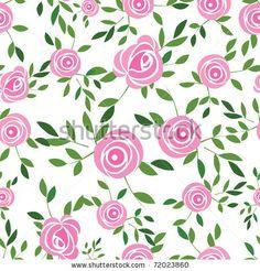 circular simple rose illustration