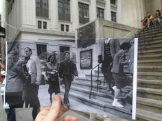 Photos of Film Stills vs. Their Real Life Locations