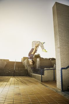 Photo Nike Ad Parkour UAE by Alex  Callueng on 500px