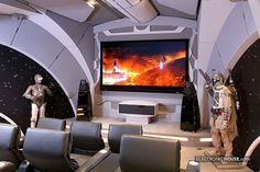 Death Star Theatre Room? Yes please!