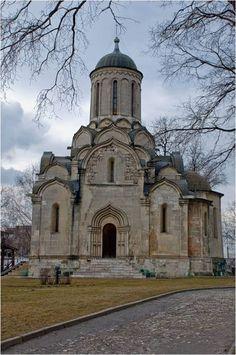 Спасский собор Андроникова монастыря в Москве. 20-е гг. 15 в