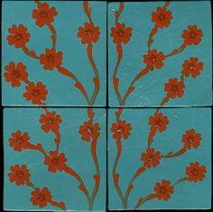 Emery & cie - Carrelages - Peints a la Main - Modèles - Primula - Primula Arborea - En Collection - Variations - Page 41r