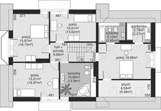 Unique Country House Plan With Four Bedrooms And Three Bathrooms - House And Decors Four Bedroom House Plans, Porch House Plans, Bungalow House Plans, Home Building Design, Home Design Plans, Building A House, Modern House Floor Plans, Classic House Design, French Country House Plans