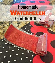 Homemade Watermelon