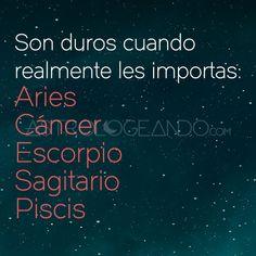 #Aries #Cáncer #Escorpio #Sagitario #Piscis #Astrología #Zodiaco #Astrologeando astrologeando.com
