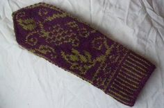 Terrific patterned mittens