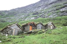 Small houses in the mountains of Norway, to stay in when collecting sheep, fishing and so on.