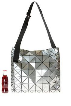 BAO BAO Issey Miyake - Crossbody Bag Of Big Dimensions Made Of Polished  Triangular Ratio Plates Of Two Different Dimensions 3f8a9328eb114