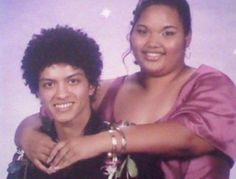 Bruno Mars' prom photo.
