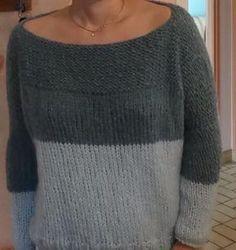 Voici un tuto de Anne : un pull bi-colore facile à faire. Like et partage ce post pour l'aider à gagner le concours Winter Break. Pull bigoût de Catcat revisité à ma façon il faut une Laine légère ...