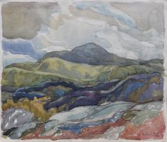 Franklin Carmichael - Port Coldwell Lake Superior x Watercolour Franklin Carmichael, Lake Superior, Watercolour, Artists, Painting, Watercolor, Watercolor Painting, Painting Art, Paintings