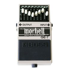 morhell mod service - Bass/ Low-End Mod for BOSS GE-7