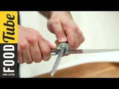 How to sharpen knives - Jamie Oliver's Home Cooking Skills - YouTube
