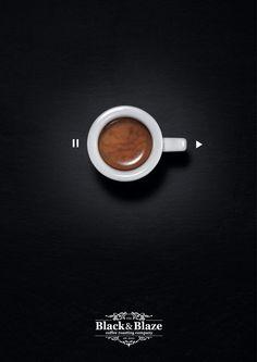 Black & Blaze Coffee: Pause-Play