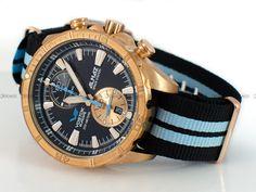 Zegarek Vostok Almaz - koperta patynująca się z brązu.