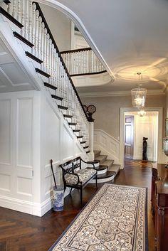 Beautiful staircase - Douglas Vanderhorn, Architect